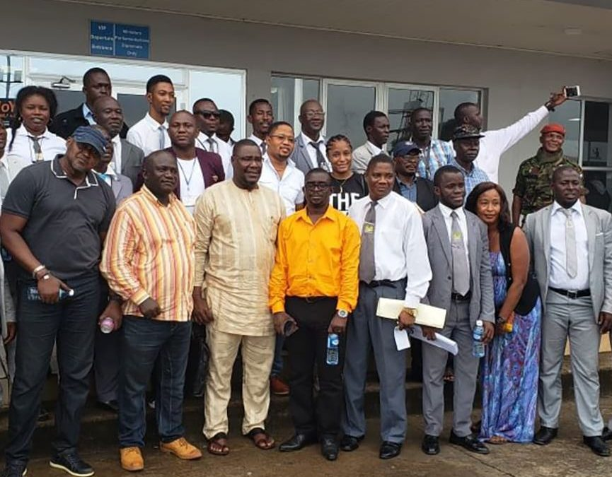 Chief Immigration Boss on Nationwide Familiarization Visit.